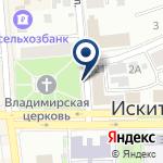 Компания Городской информационно-технический центр, МУП на карте