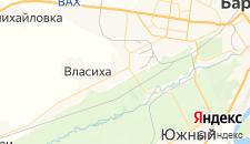 Гостиницы города Новосиликатный на карте