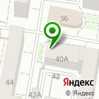 Местоположение компании МЕДЭСТЕТ