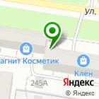 Местоположение компании Специализированная похоронная служба г. Барнаула, МУП