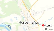 Гостиницы города Новоалтайск на карте