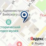 Компания Бийский таможенный пост на карте