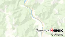 Гостиницы города Анос на карте