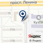 Компания Упакцентр на карте