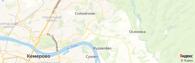 Танай на карте