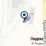 Компания Метапро на карте