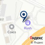 Компания АЗС RUSH на карте