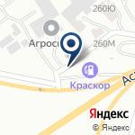 Компания АЗС Краскор на карте