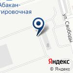 Компания Красноярская дирекция по управлению терминально-складским комплексом на карте