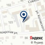 Компания Рублевка на карте