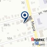 Компания СТО на ул. Мира на карте