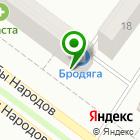 Местоположение компании Красотка