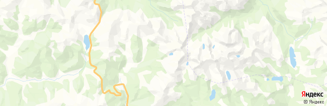 Ергаки на карте
