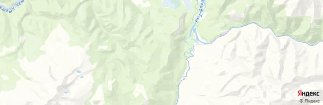 Уш-Белдир на карте