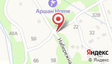 Гостевой дом на Лермонтова 14а на карте