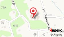 Гостевой дом на Лермонтова на карте