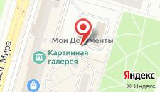 Отель Усть-Илим на карте
