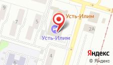 Гостиница Усть-Илим на карте