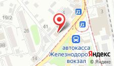 Гостиница Магас на карте