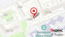 Гостиница Академическая на карте