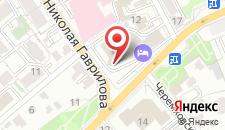 Отель Кортъярд Марриотт Иркутск Сити Центр на карте