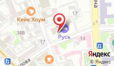 Гостиничный комплекс Русь на карте