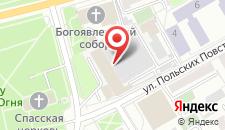 Гостиница Империя на карте