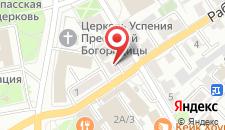 Хостел Ушанка на карте