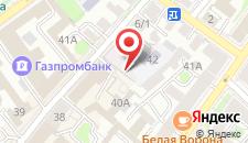 Хостел Лучший в Иркутске на карте