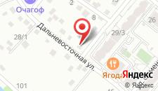 Апартаменты Родной Берег на карте