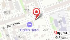 Отель Грин на карте