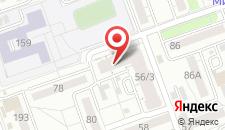 Апарт-отель Иркутские Берега на карте
