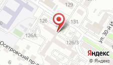 Гостиница Байк на карте