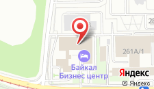 Отель Байкал Бизнес Центр на карте