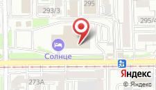 Гостиничный комплекс Солнце на карте