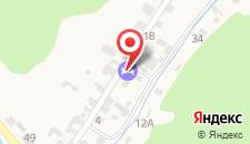 Гостевой дом Ёлочка на карте