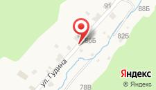 Гостевой дом Гавань Байкала в Листвянке на карте