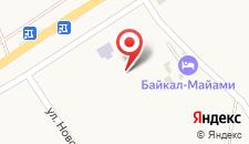 Гостевой дом Байкал-Майами на карте