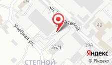 Гостиница Абрамович на Кабанской на карте