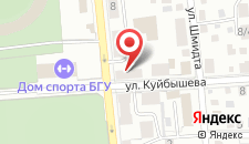 Хостел Green На Куйбышева на карте