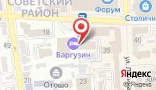 Гостиница Баргузин на карте