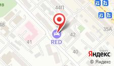 Гостиница Red на карте