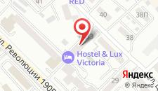 Гостиница Victoria на карте