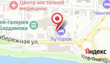 Хостел Хуторок на карте