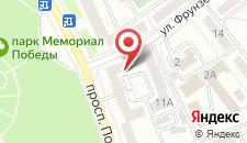 Отель Релакс на Проспекте Победы на карте
