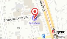 Отель Reston Hotel & Spa на карте