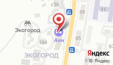 Гостиница Аян отель на карте