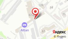 Гостиница Алтан на карте