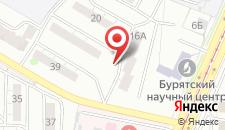 Отель Белый Парус на карте