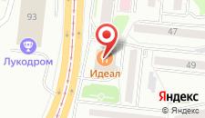 Отель Партизан на карте